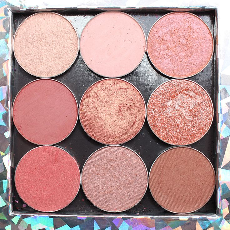 Makeup Geek Peach Palette - Makeup Geek Peach Eyeshadow with Swatches
