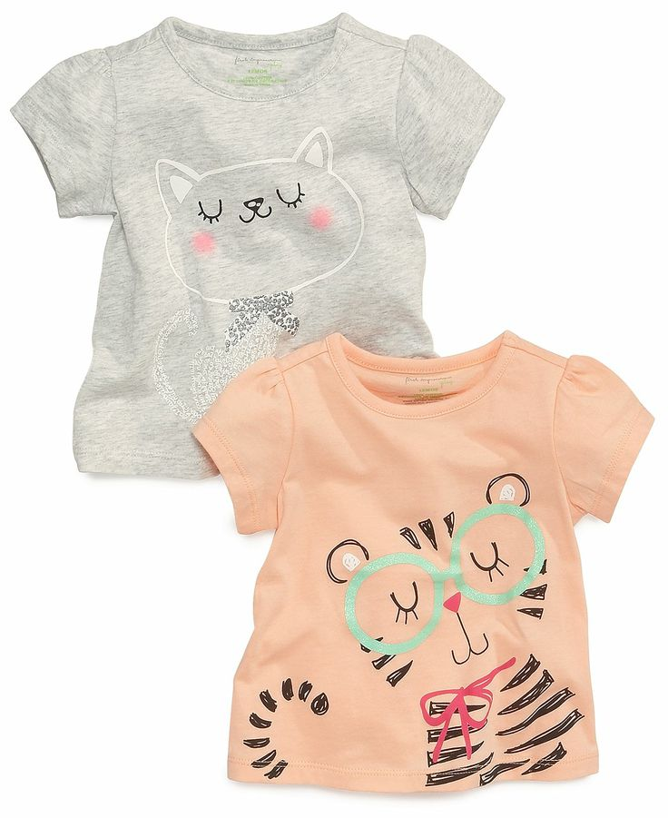 First Impressions Baby Girls' Graphic Top - Kids First Impressions - Macy's