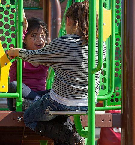 Juegos Infantiles Instalado en Bijao, Provivienda Cocle Panama