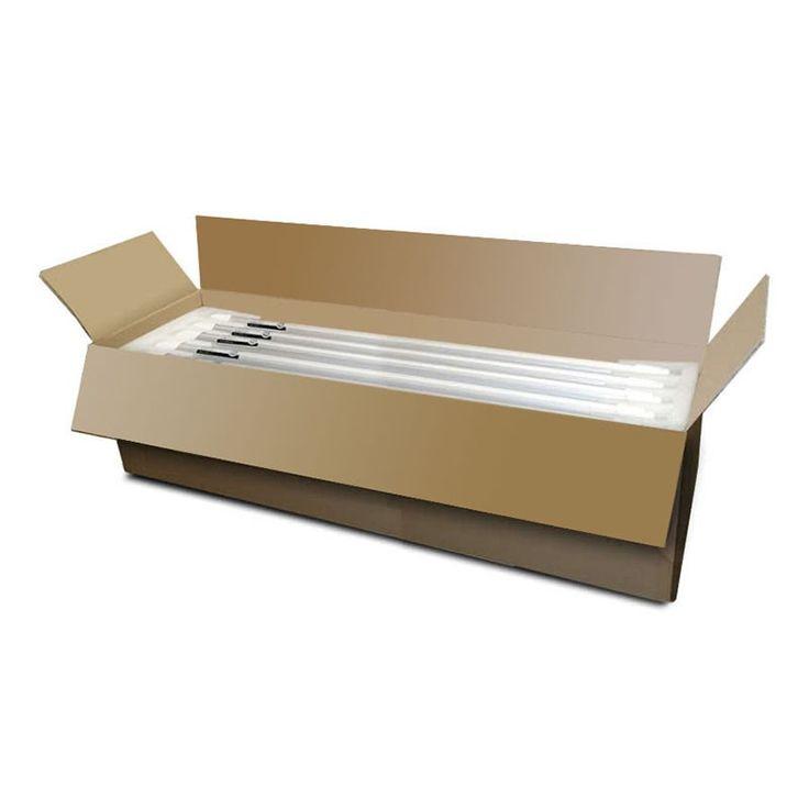 caja de tubos LED 18W    329€