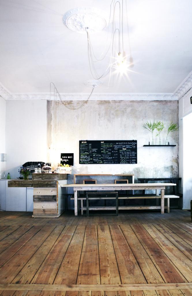 Cafe new deli yoga, Berlin