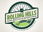 Rolling Hills Bicycle Shop logo (website has lots of other inspiration)