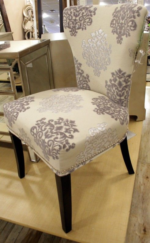 Isn't HomeGoods great? I'd love to add this chair to an office or as an accent in my bedroom