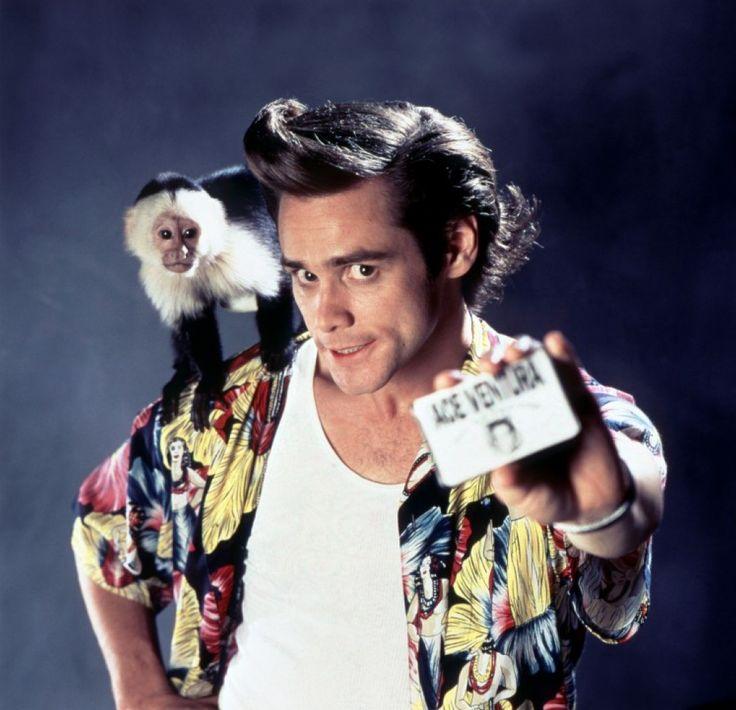 Jim Carrey as Ace Ventura in a great Hawaiian Shirt ...