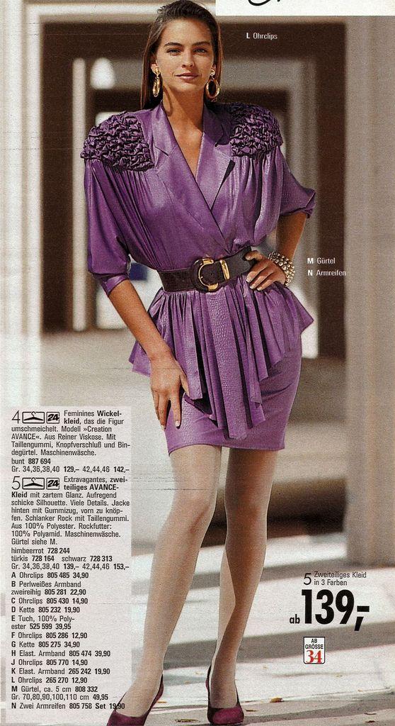 Retrospace: Mini Skirt Monday #120: 1980s Fashion Mags ...