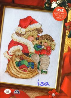 Country Companions Santa's Sack The World of Cross Stitching Issue 117 Christmas 2006 Saved