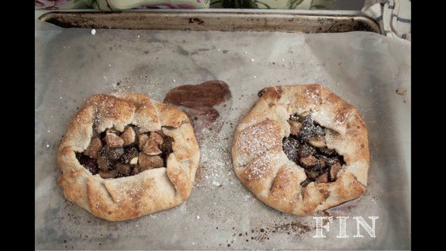 Fig Galette by Najwa Kronfel | Pies, Cobblers and Tarts | Pinterest