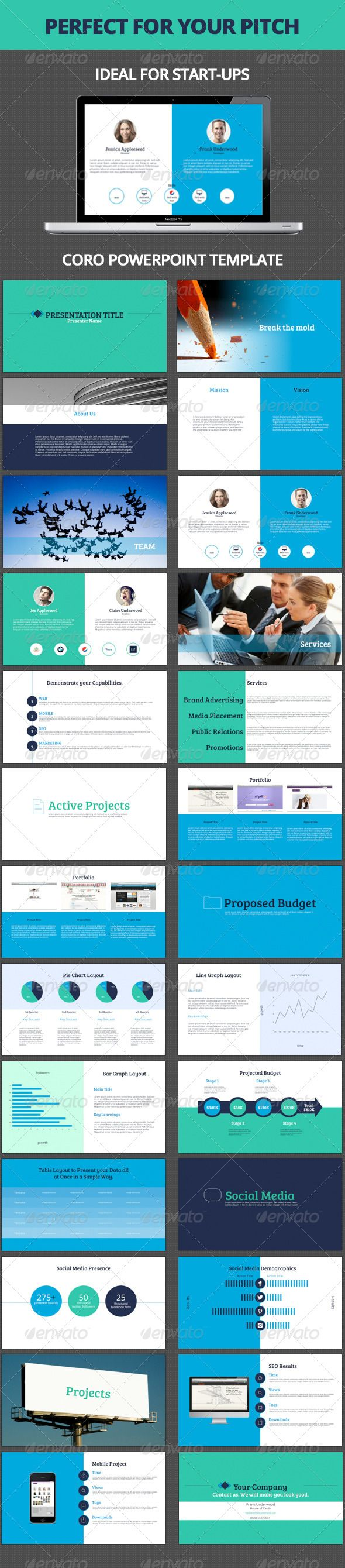 Coro Powerpoint Template - Presentation Templates