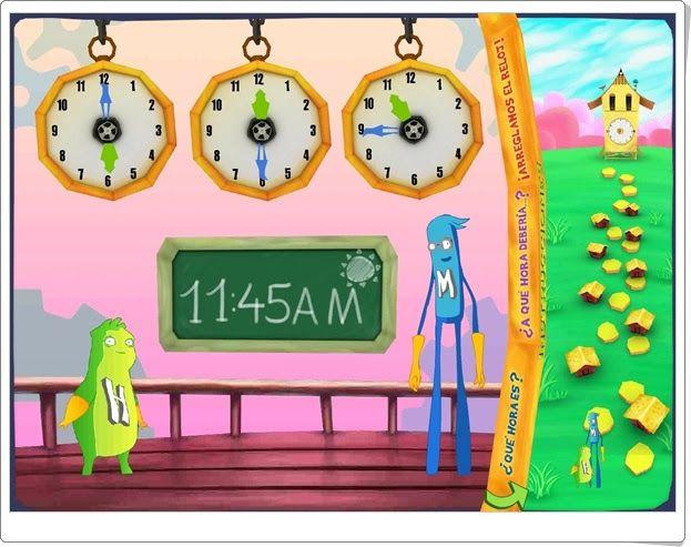 """""""Hora y minuto"""": ¿Qué hora es? (Matemáticas de 1º y 2º de Primaria)"""