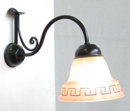 LAMPADA-A-MURO-APPLIQUE-ATENA-IN-FERRO-BATTUTO