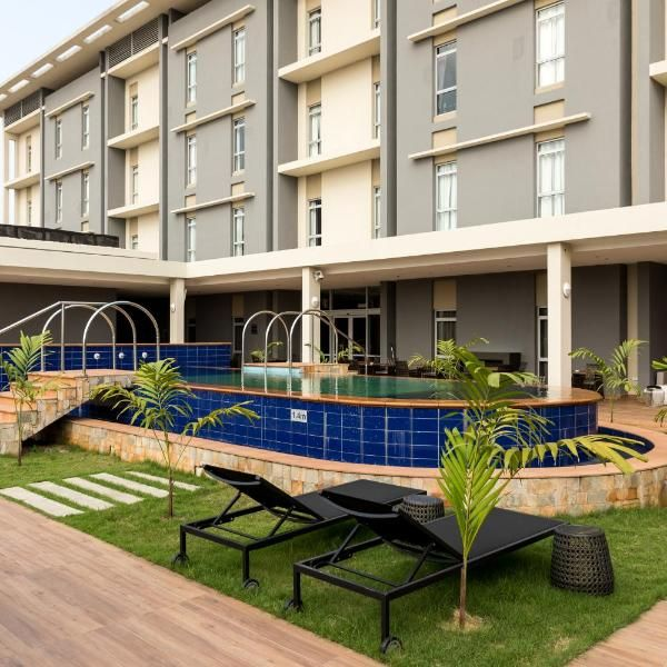 Protea Hotel By Marriott Owerri Select Featuring A Garden A Fitness Centre And A Bar Protea Hotel By Marriott Owerri Select Is Situat Hotel House Styles Owerri