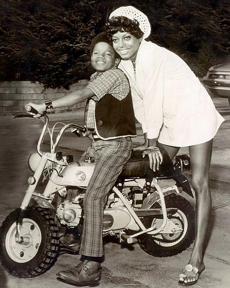 My boy: Superstar Diana Ross with the young Michael who, for a while, shared her Hollywood Hills home.