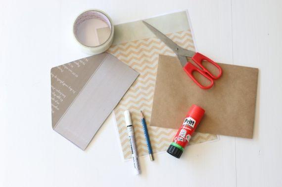 Versier je envelop - hier vind je uitleg - Babyblog