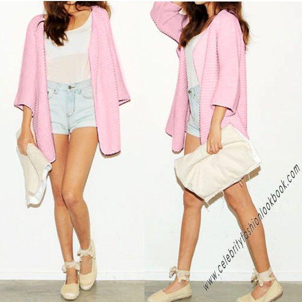 Pastel Knitted Cardigan - Knitwears - Clothing US$41.61 Free shipping worldwide  #knitwear #winterwear #cardigan  #fashion