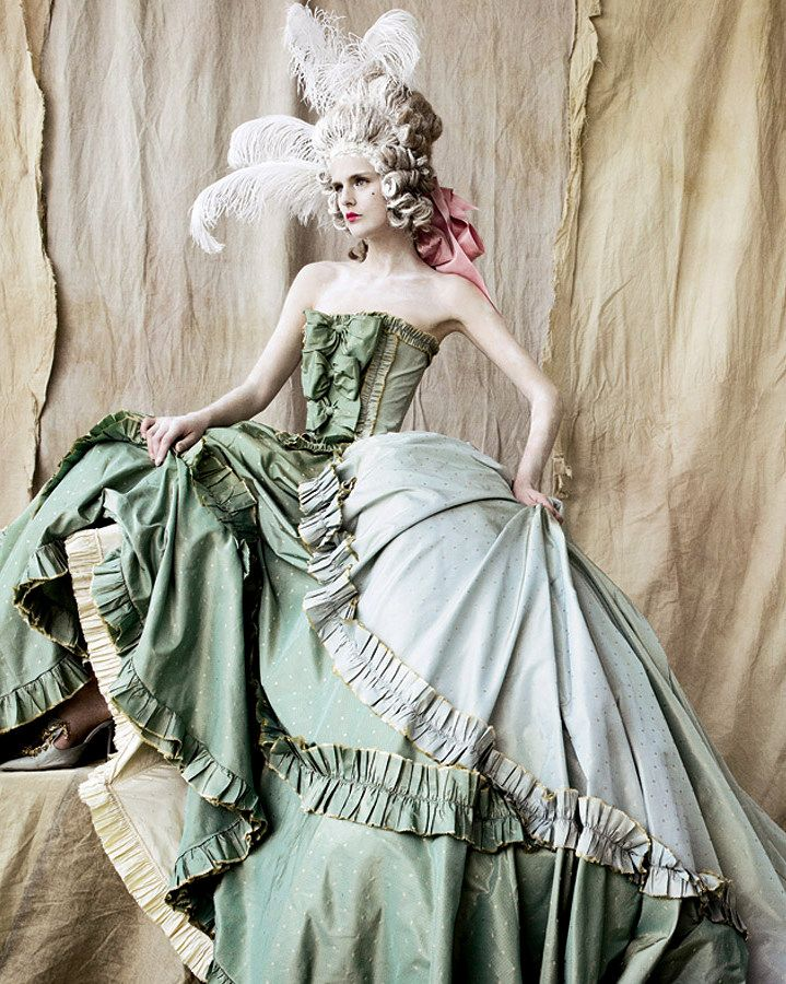 christian dior haute couture by mario testino for vogue