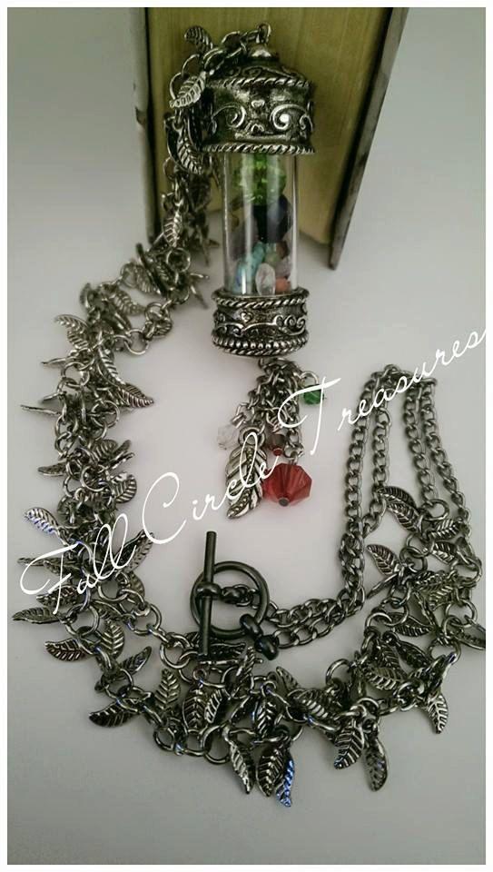 Handmade necklace Chakra Metaphysical Pagan by FullCircleTreasures