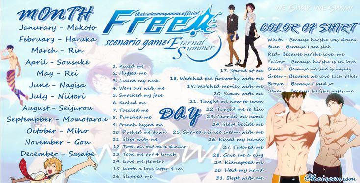 free iwatobi swim club dating quiz I only date free aliases: free otome game, iwatobi swim swimming anime dating sim: club 20 otome game 20 swimming club.