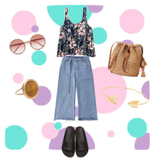 """Untitled #50"" by evachrisomalli-1 on Polyvore featuring Aéropostale, Valentino, Dolce&Gabbana, Ginette NY and Lord & Taylor"