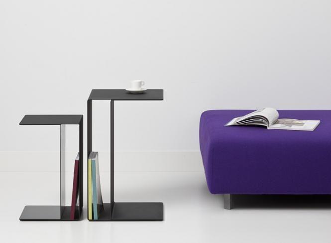 Cascando Design Beistelltisch U2 - 60x38x38 cm (HxBxT)