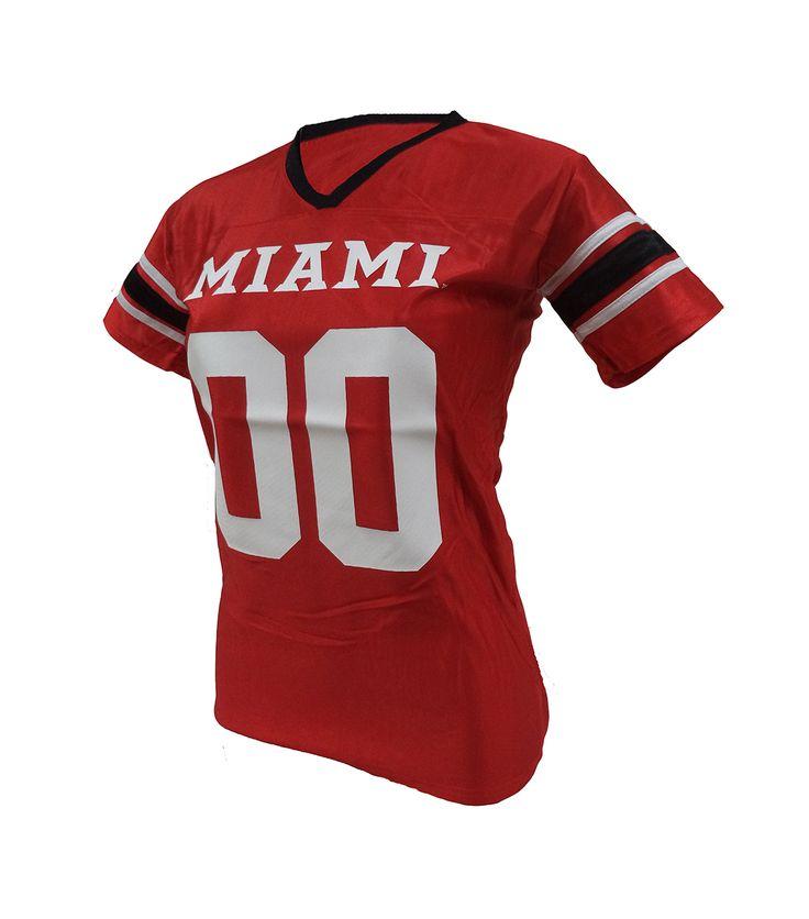 Women's Miami University RedHawks Football Jersey