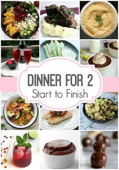 Dinner for Two Meal Plan, Start to Finish