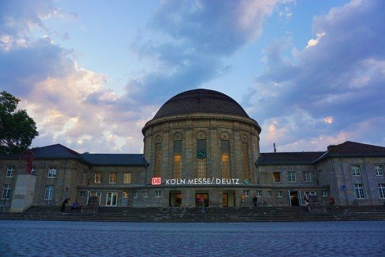 Köln Messe/Deutz trainstation