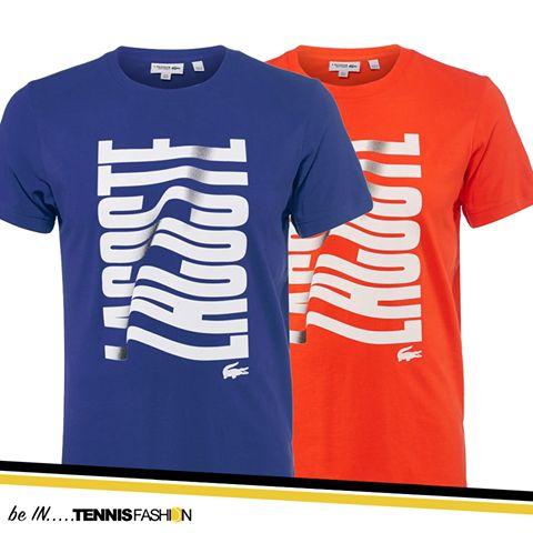 Lacoste Men's Fall Wave T-Shirt #tennisfashion #Lacoste
