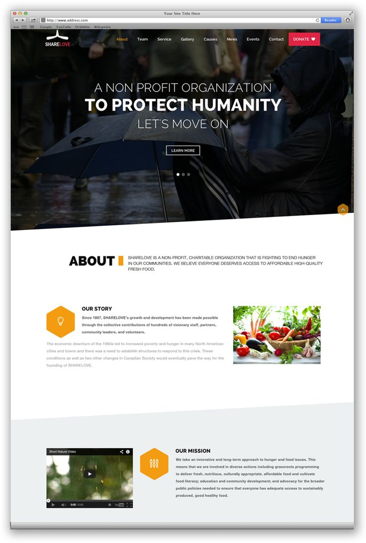 Share Love | Web Design Portfolio | Charities | Toronto | Richmond Hill | North Toronto | www.magentadesign.ca