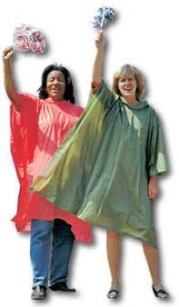 Disposable Poncho/Slicker - Case of 144 $135.00