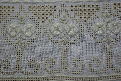 One of our many projects in class last year was pulled thread embroidery. Some of the ladies attending my classes were embroidering pulled t...