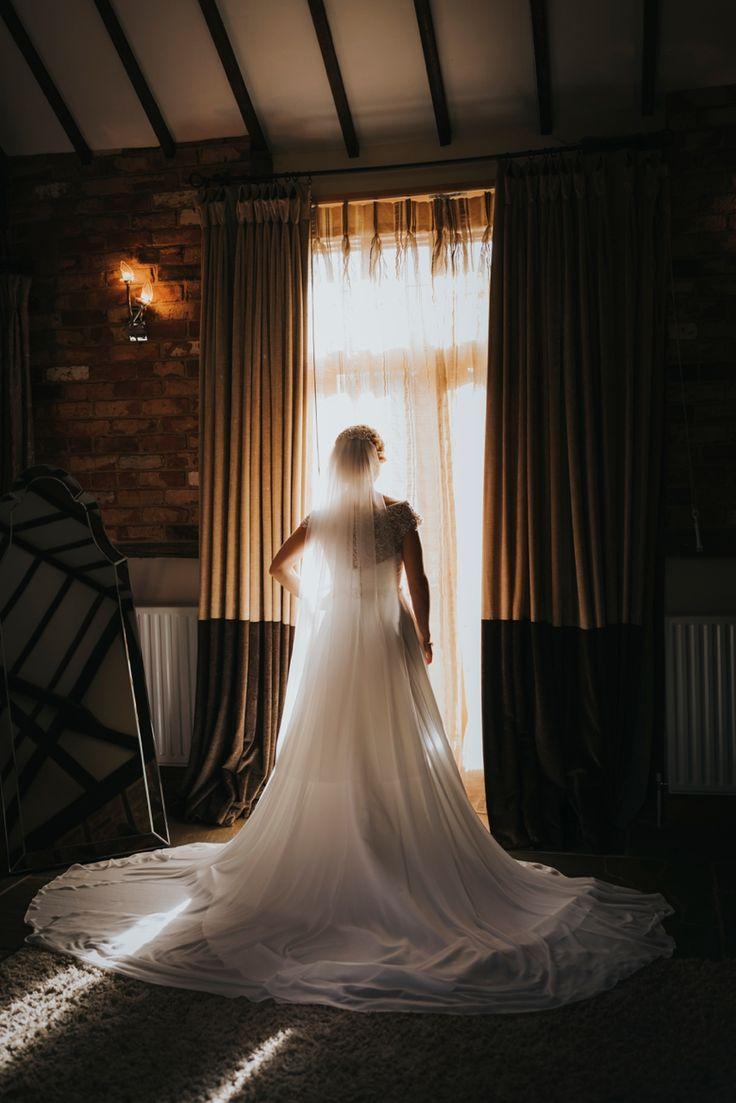 Wedding dress for days. This @justinalexander dress is divine. Photo by Benjamin Stuart Photography #weddingphotography #bride #weddingdress #justinalexander #bride #gettingmarried #weddingday