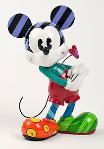 Mickey Mouse - Mickeys Heart - Britto - Romero Britto - World-Wide-Art.com - $70.00 #Britto #Mickey