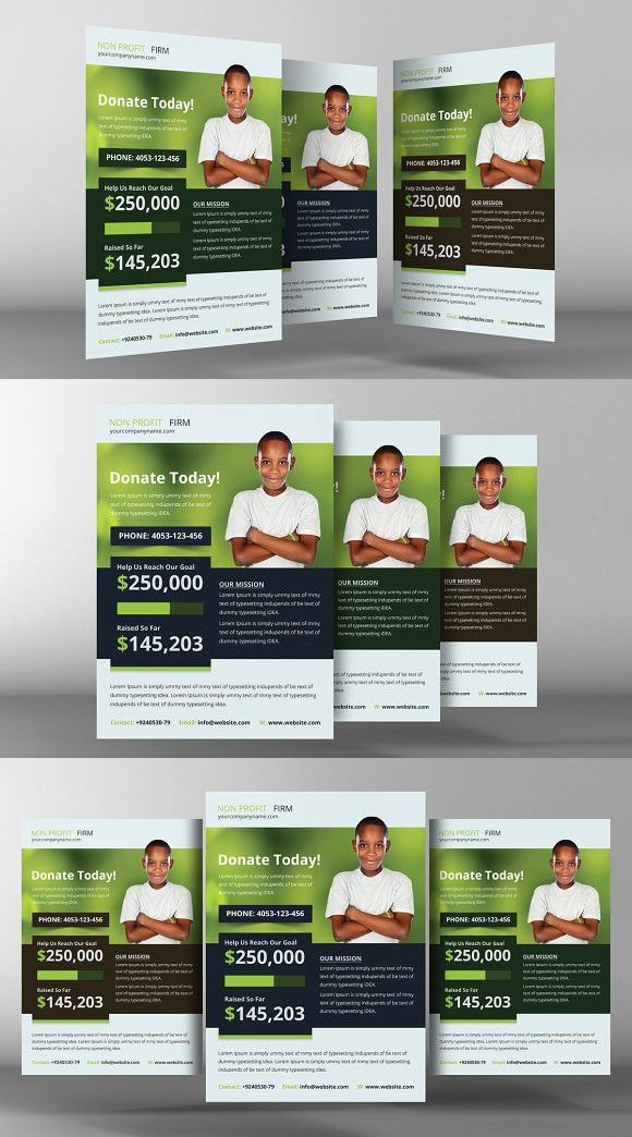 Donation Template Charity Donation Flyer Template, Training Grant