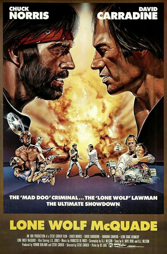 Lone Wolf McQuade - Chuck Norris, David Carradine (1983)