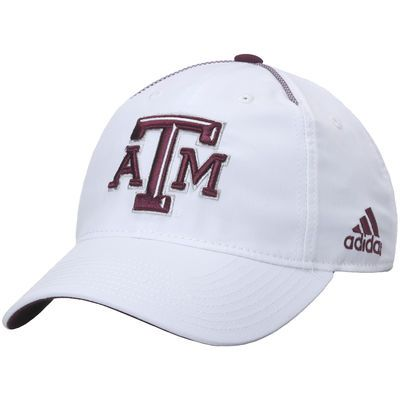 Texas A&M Aggies adidas Spring Game Slouch climalite Adjustable Hat - White