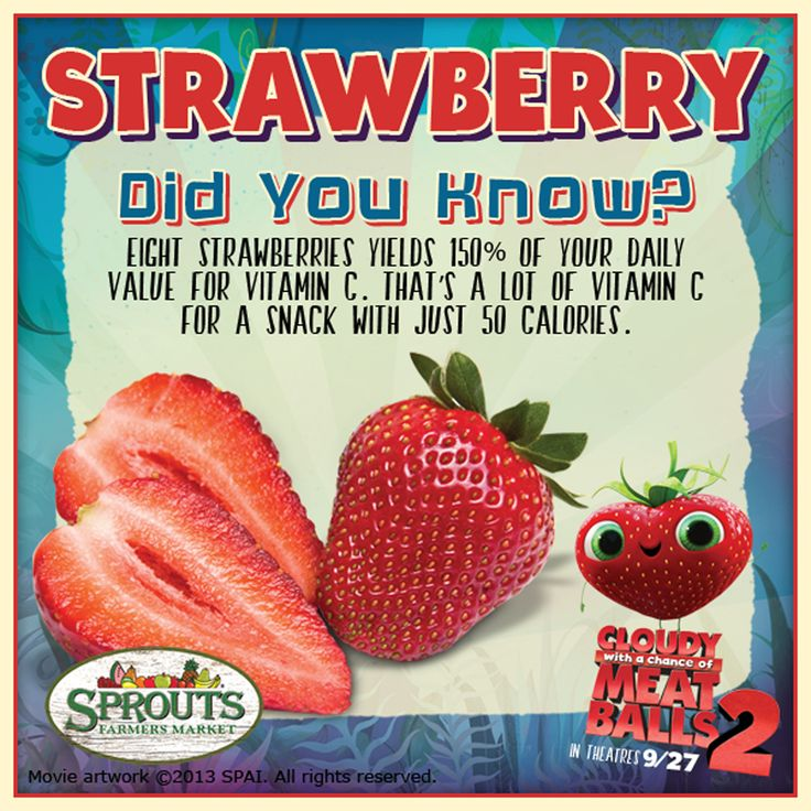 These Foodimal Facts Are So Berry Cute And Healthy