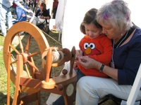 A demo at Danforth East Arts Fair. Fun for the whole family!