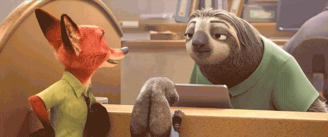Darrin Butters-Zootopia Sloth