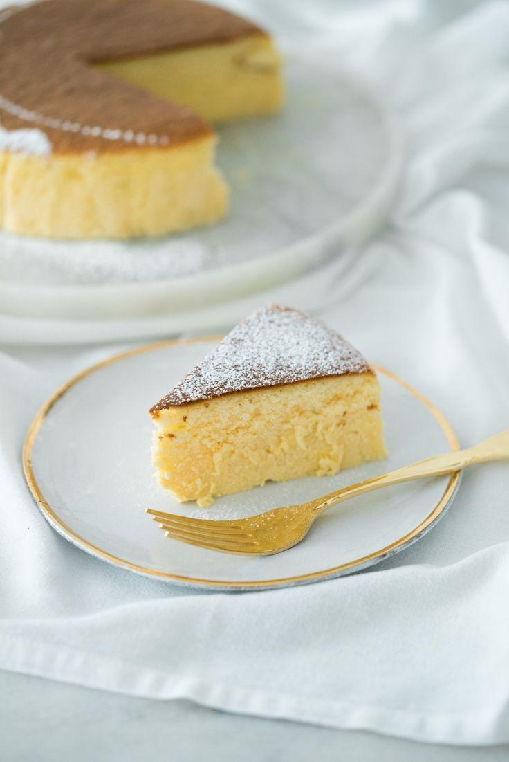 Cheesecake Japonesa aka Torta Suflê de Limão | Vídeos e Receitas de Sobremesas