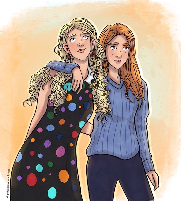 Ginny and Luna
