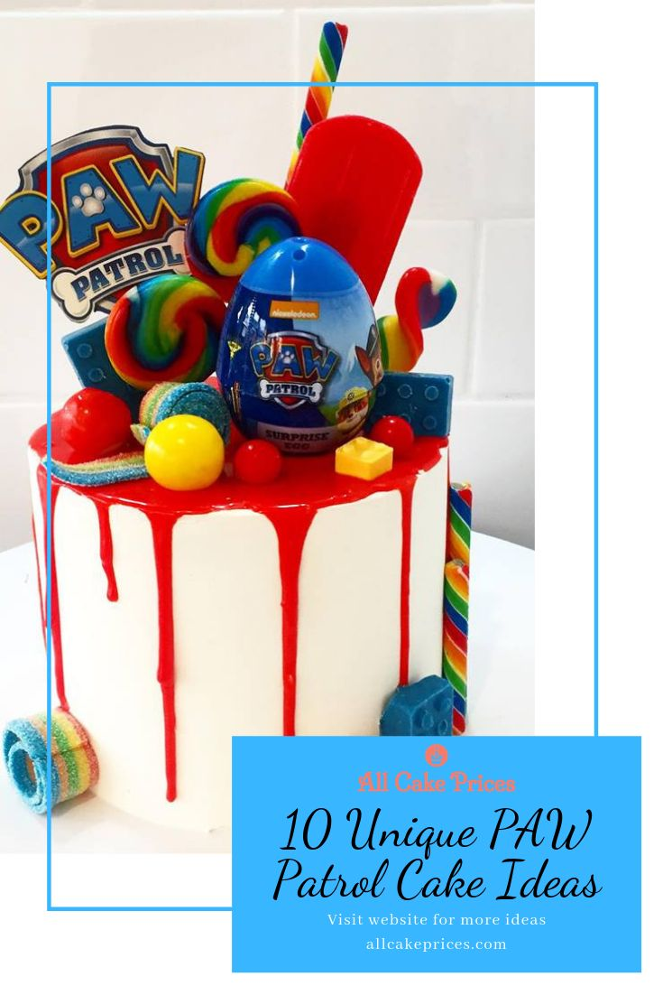 Are you looking for paw patrol birthday cake ideas weve