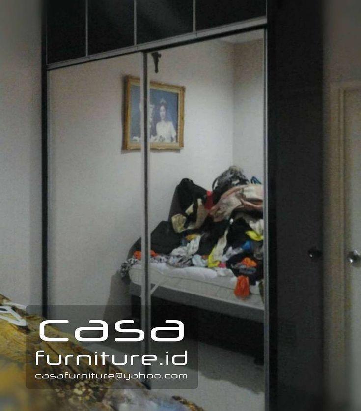 "343 Suka, 8 Komentar - KITCHEN SET,LEMARI MINIMALIS (@casafurniture.id) di Instagram: ""Lemari pakaian Minimalis @tamanchrysant Tangerang  #lemari #wardrobe #furniture #bsd #tangerang…"""