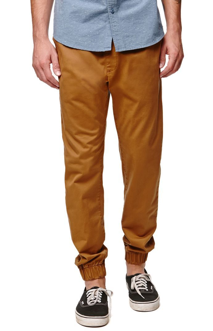 Bullhead Denim Co Dillon Skinny Chino Jogger Pants for him!! I bet you he would love them!