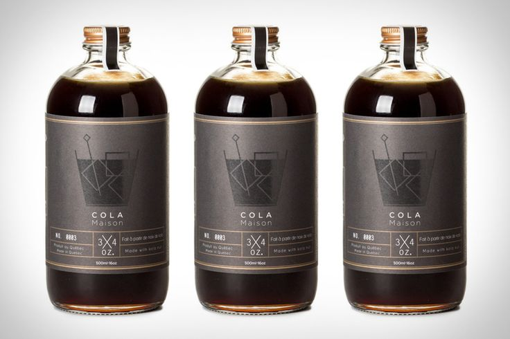 Cola Maison — The Dieline - Branding & Packaging