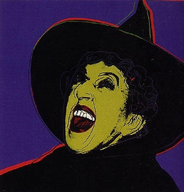 Warhol / Wicked Witch from the Myth series 1981.