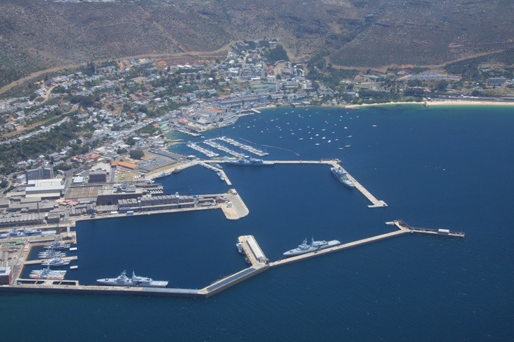 Arial Photo of harbour