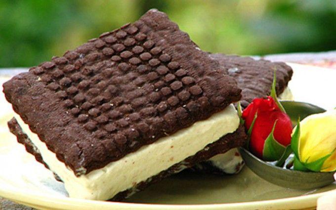 Zmrzlinové sendviče - domácí sušenky i domácí zmrzlina | NejRecept.cz
