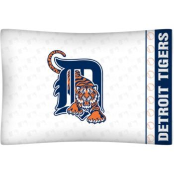 Detroit Tigers Standard Pillowcase