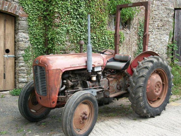 1961 Massey Ferguson 35 Diesel : Best tractors images on pinterest old