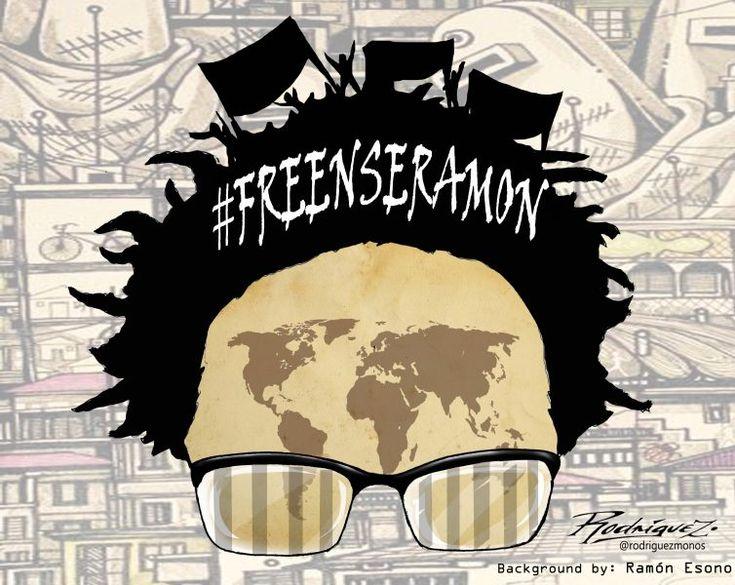 Antonio Rodríguez (Mexique / Mexico) (2018-02-05)  Soutien au dessinateur Ramón, détenu en Guinée Equatoriale -  Les dessins de presse nous font rire. Sans eux, nos vies seraient bien tristes. Mais c'est aussi une chose sérieuse : ils ont le pouvoir d'informer mais aussi d'offenser
